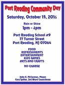 Port Reading Day Flyer